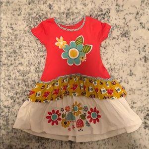 Girls Jelly the Pug dress